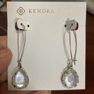 Kendra Scott macrame' dee drop earrings